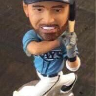 Logan Forsythe Tampa Bay Rays Baseball Booblehead just $3 for Sale in Port St. Lucie, FL