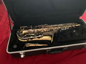 Bundy brand Alto saxophone with everything you see for Sale in Glendale, AZ