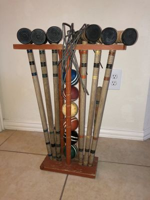Croquet set for Sale in Sachse, TX