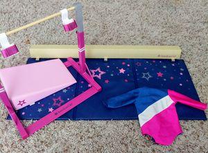 American Girl Doll Gymnastics Set + Matching Leotard for Sale in Las Vegas, NV