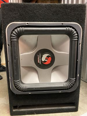 15 inch Subwoofer with amp for Sale in San Diego, CA