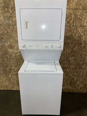 """GE WASHER DRYER ELECTRIC STACKABLE 27"""" wide for Sale in Vancouver, WA"""