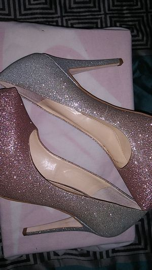 Ombre sparkling heels for Sale in Jacksonville, FL