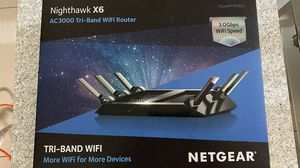 Netgear x6 tri-band wifi router for Sale in Houston, TX