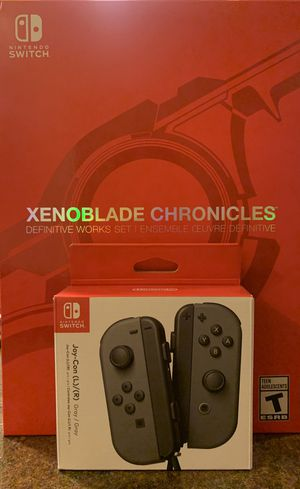 Nintendo Switch joycons and Xenoblade Chronicles special edition bundle for Sale in Portland, OR