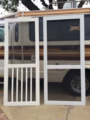 Screen door for Sale in Etiwanda, CA