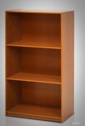 New!! Bookcase, bookshelves, organizer, storage unit , shelving display, living room furniture, cherry for Sale in Phoenix, AZ