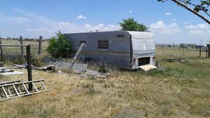 1957 Comet vintage antique travel trailer project for Sale in Canyon, TX