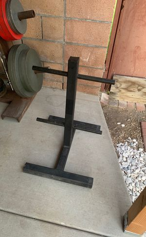 Weight rack PICK UP ONLY for Sale in Pomona, CA