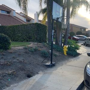 Free Basketball Hoop U Dig Uhaul for Sale in Carlsbad, CA