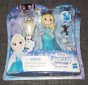 NEW Frozen Little Kingdom Toys Elsa & Olaf toys New In Box for Sale in Euless, TX