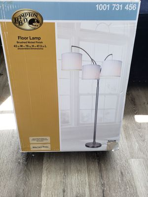 Floor lamp never open the box for Sale in SUNNY ISL BCH, FL