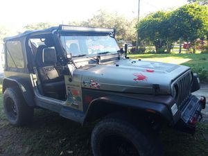 Jeep tj 2001 for Sale in Brandon, FL