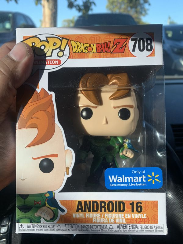 Dragon ball z Android 16 pop exclusive