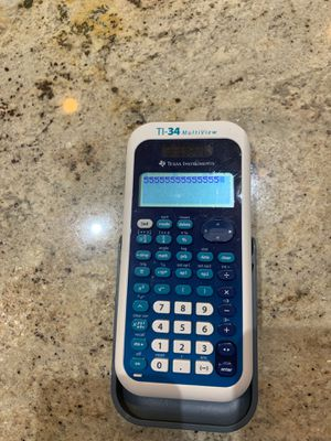 TI-34 MultiView Texas Instruments calculator for Sale in Franklin, TN