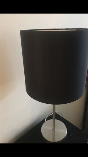 Black lamp for Sale in Fort Lauderdale, FL