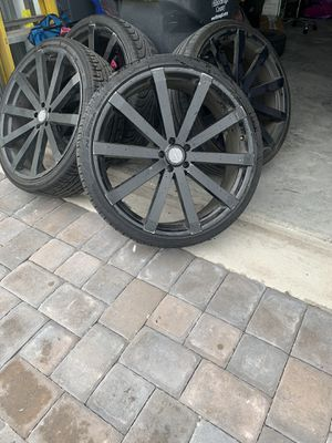 24inch Rim & Tires for Sale in Riverview, FL