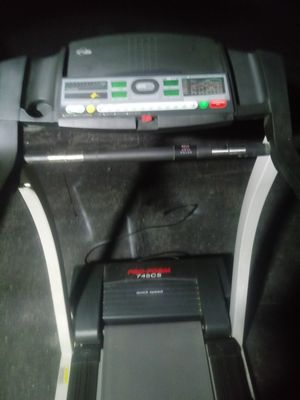 ProForm Treadmill model#745cs new excellent condition monitors your progress stay in shape or lose weight delivery is possible for Sale in Philadelphia, PA