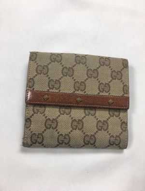 Gucci Monogram Studded Bifold Wallet for Sale in Selma, CA
