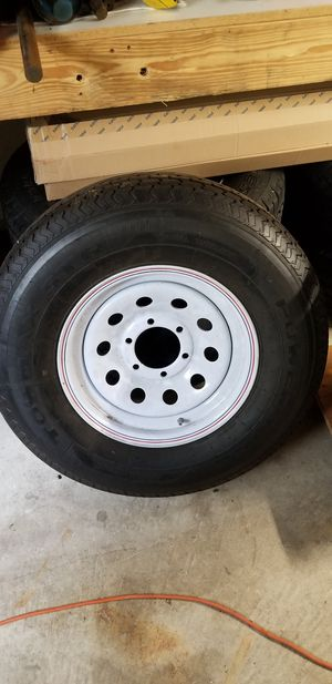 Trailer tires 235/80 R16 load range E for Sale in Lacey, WA