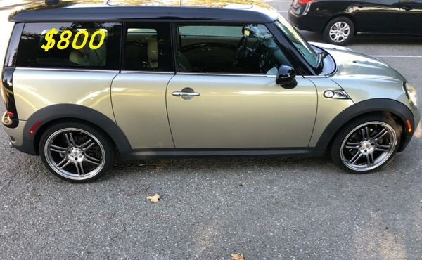 🎁💲8OO For sale URGENTLY 2OO9 Mini cooper . The car has been maintained regularly 🎁v