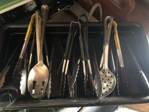 Miscellaneous kitchen utensils and plastic organizers for Sale in Burbank, CA