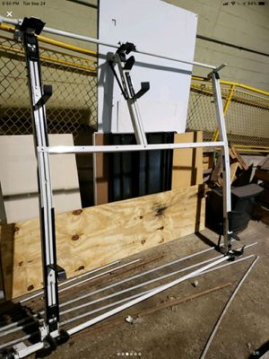 Adrian stell combo rack whit step ladder for Sale in Wheeling, IL