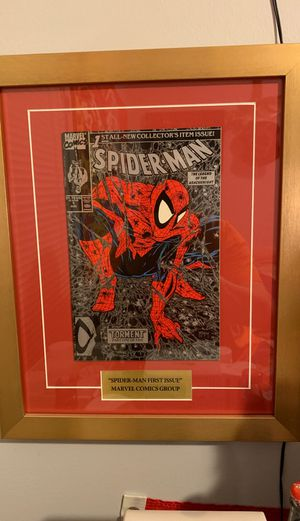 Custom frame Mint Condition Spider-Man collectibles for Sale in Kansas City, MO