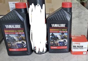 Yamaha Motorcycle Supplies - oil filter, Yamalube oil for Sale in Sterling, VA