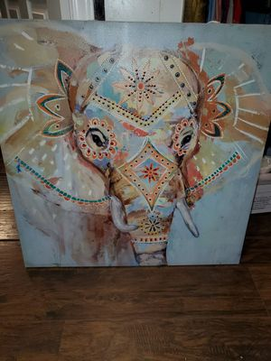 Elefant picture frame for Sale in Austin, TX