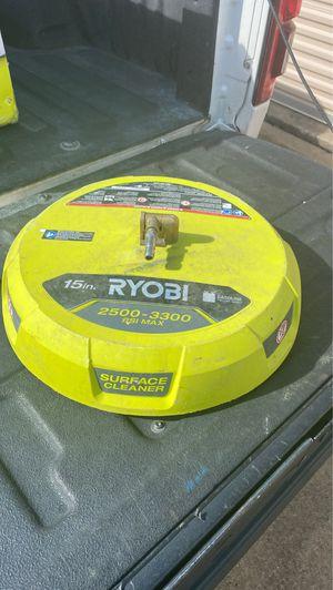 "Ryobi 2500-3300 psi max 15"" gasoline pressure washer for Sale in Houston, TX"
