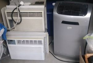 3 ac units all work Very well $100 for Sale in Virginia Beach, VA