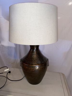 Large Table Lamp and Shade for Sale in Waltham, MA