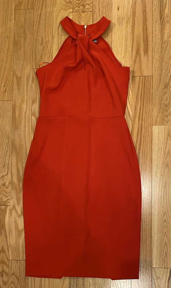 Taylor Red Cocktail Dress