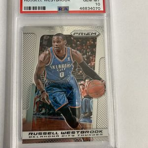 PSA 10 Russell Westbrook 2013 Panini Prizm for Sale in Plymouth, MA