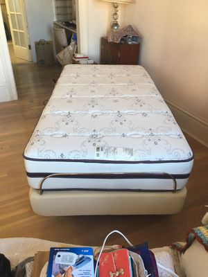 Ergomotion twin bed and Beautyrest Mattress for Sale in San Francisco, CA