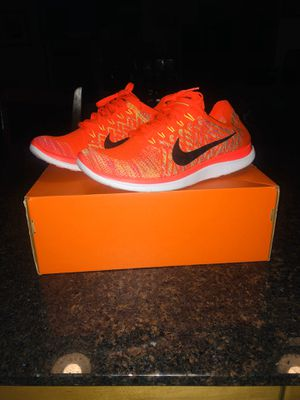 Men's NIKE Free 4.0 Flyknit 717075 600 Running Shoes Sz 11, Nike Air Max, Jordan for Sale in Chicago, IL