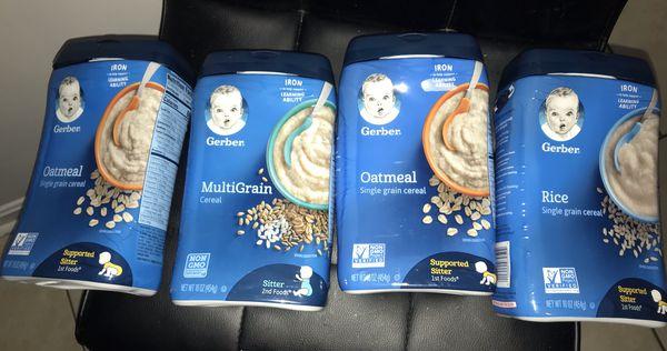 Baby cereal (Gerber))