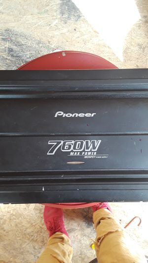 Pioneer 760w Amplifier for Sale in San Diego, CA