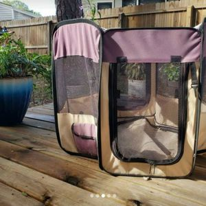 Dog Soft Sided Playpen Small for Sale in Largo, FL