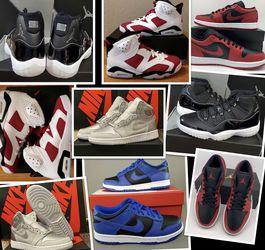 Jordan's - 6Y/ 7.5 Women's for Sale in Discovery Bay,  CA
