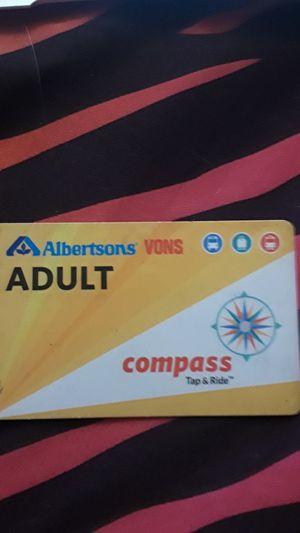 Bus pass valid till dec 2025 for Sale in El Cajon, CA