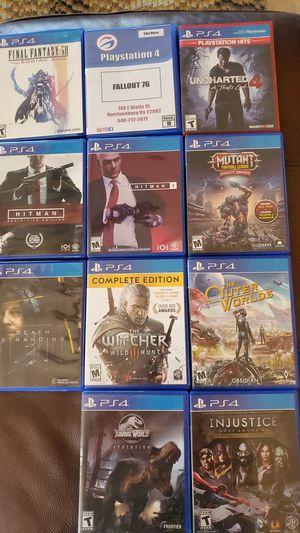 Assorted PS4 games for Sale in Harrisonburg, VA