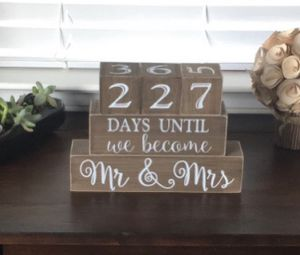 Rustic wedding countdown for Sale in Cypress, CA