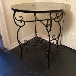 Iron Base Table for Sale in White Plains, NY