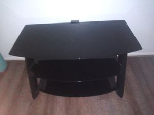 Black Glass TV Stand for Sale in Palm Bay, FL