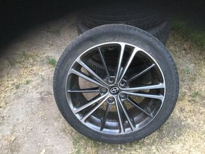 4 2015 Toyota FRS stock rims with tire for Sale in Burbank, CA