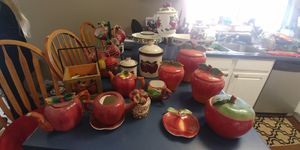 Kitchen apple collectibles free must pick up today for Sale in Pittsburg, CA