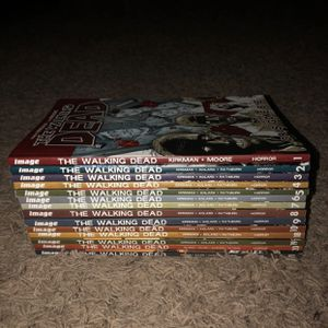 The Walking Dead Comics 1-10 and 18-21 for Sale in Kissimmee, FL