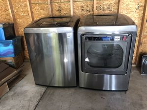 LG Stainless Washer & Dryer Excellent for Sale in Birmingham, MI